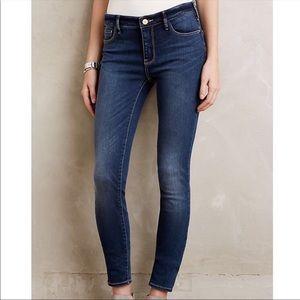 Anthro Pilcro Letterpress Serif Legging Jeans 056